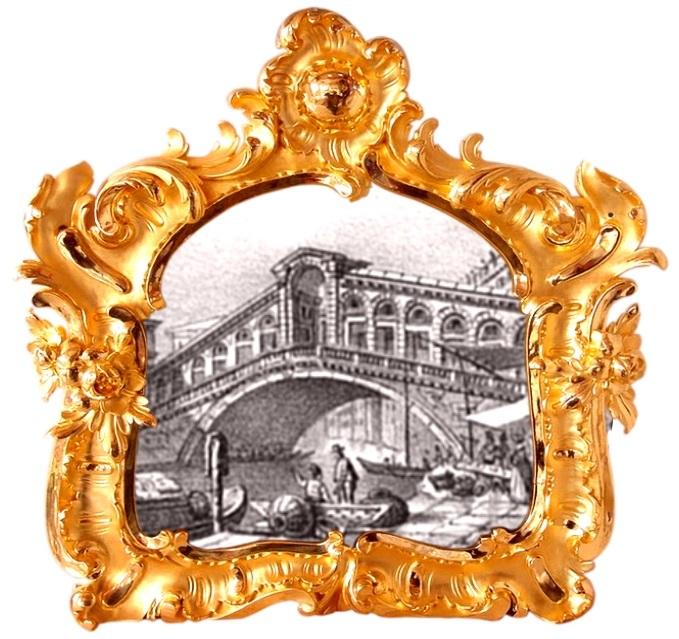 bridge venice - ponte rialto in quadro antico - storia oro orefici gioielli - gioielleria venezia meneghetti CC.jpg