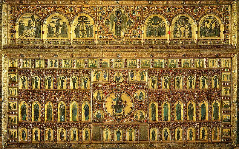 Venezia Basilica San Marco Pala d'Oro - oro gioielli orefici - in sito Gioielleria Venezia Meneghetti CC.jpg