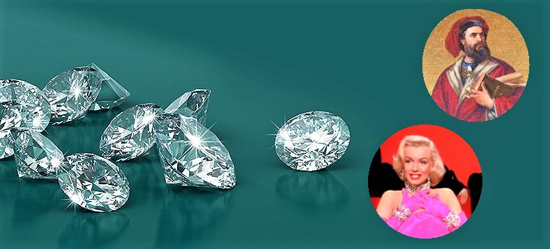diamanti calderoni marilyn monroe marco polo il milione gioielleria venezia meneghetti