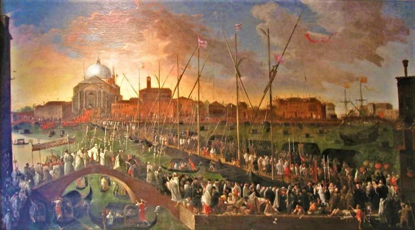 Joseph Heintz il Giovane - processione del Redentore. Venezia, Museo Correr.jpg