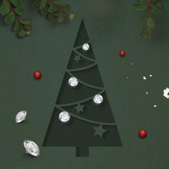 01 Calderoni & Oreficeria Meneghetti Venezia diamanti Blister Christmas Edition