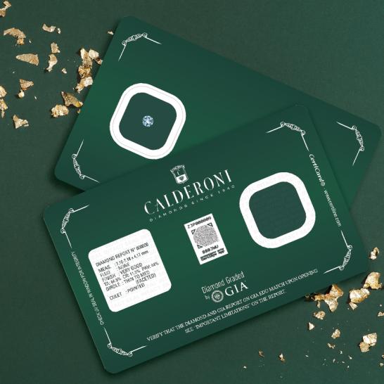 04.1 Calderoni & Oreficeria Meneghetti Venezia diamanti Blister Christmas Edition