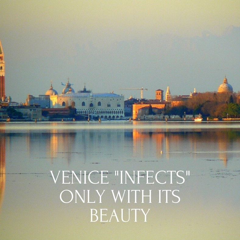 Venezia contagia con la sua bellezza ❤ Venice infects only with its beauty